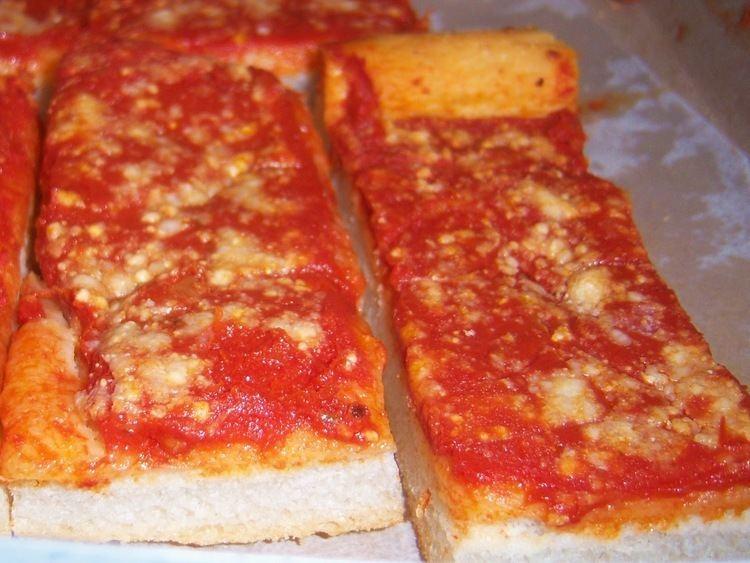 Italian tomato pie What39s Cookin39 Italian Style Cuisine Tomato Pie Recipe Upstate New York