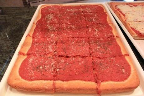 Italian tomato pie Tomato pie pizza made with Italian gravy is a Philly staple The