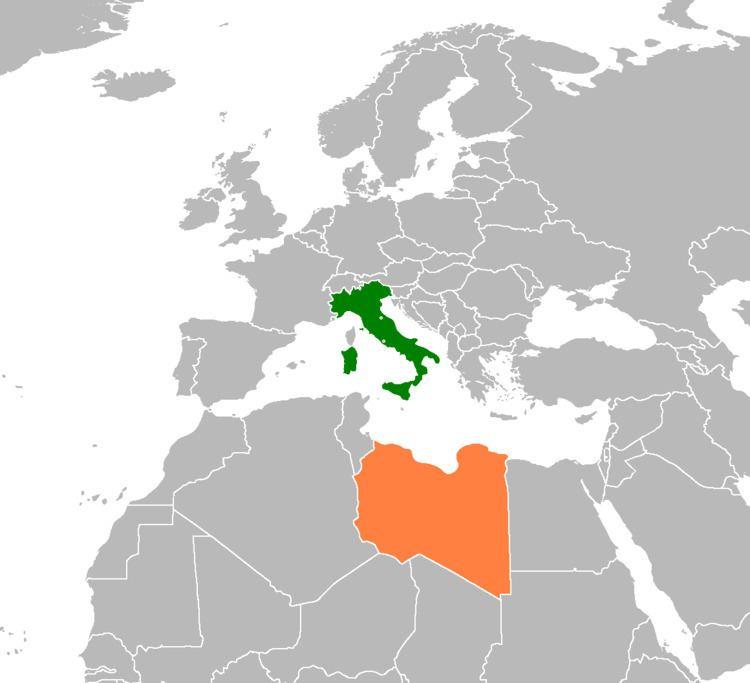 Italy–Libya relations