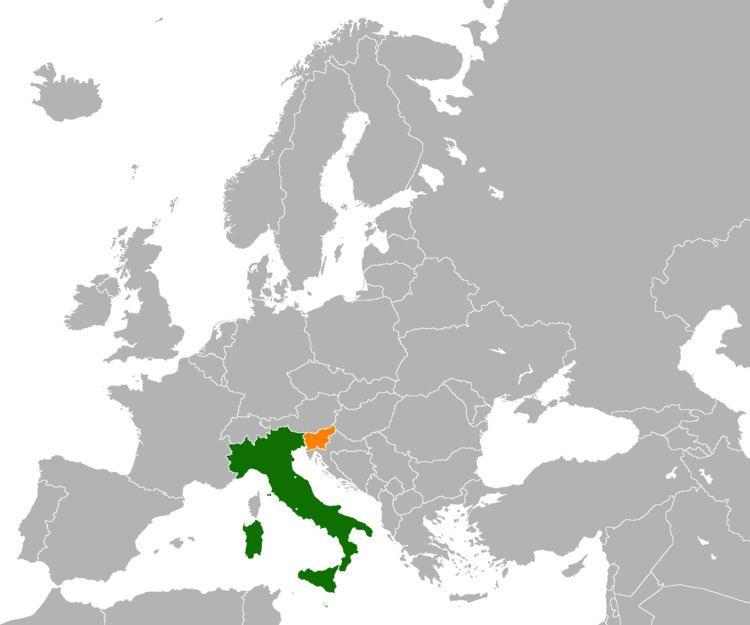 Italy–Slovenia relations