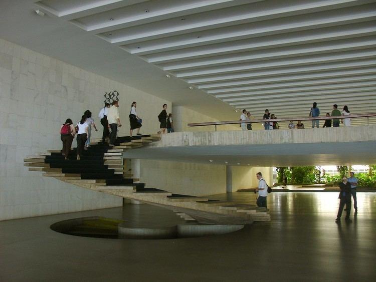 Itamaraty Palace Itamaraty Palace Oscar Niemeyer Braslia Brazil MIMOA