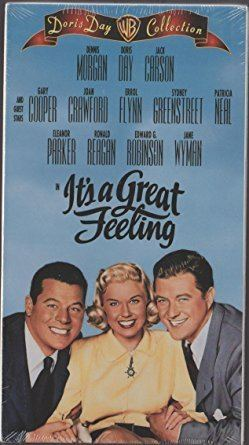 It's a Great Feeling Amazoncom Its a Great Feeling VHS Doris Day Dennis Morgan