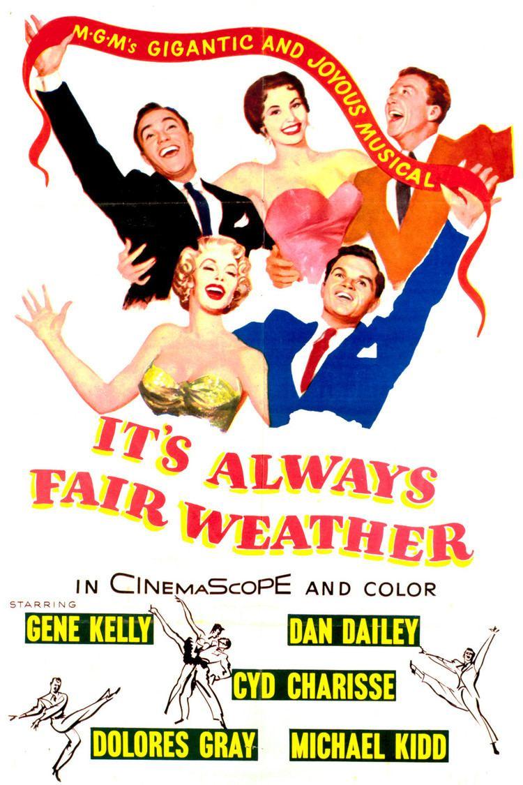 It's Always Fair Weather wwwgstaticcomtvthumbmovieposters3394p3394p