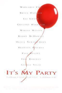 Its My Party (film) movie poster