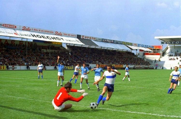 Itzhak Vissoker Israel 0 Italy 0 in 1970 in Toluca Israel keeper Itzhak Vissoker