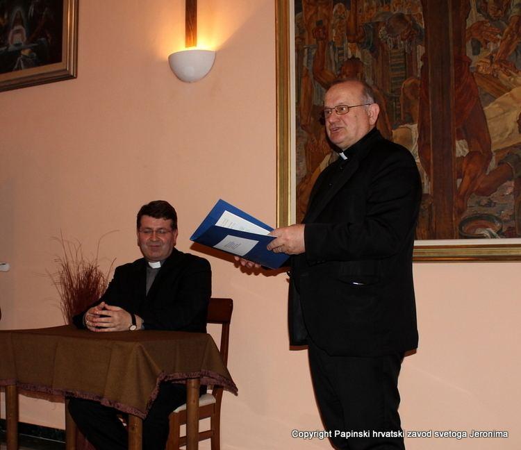 Ivan Šaško Biskup msgr Ivan ako u vizitaciji Zavoda sv Jeronima Papinski