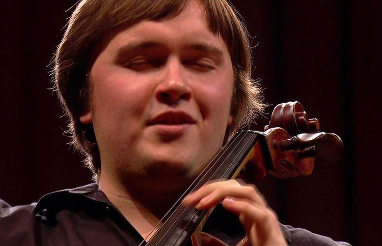 Ivan Karizna Portrait dIvan Karizna en Finale du Concours Reine Elisabeth