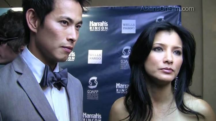 Ivan Shaw SDAFF 2011 Red Carpet Almost Perfect with Kelly Hu Ivan Shaw