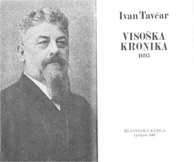 Ivan Tavčar Ivan Tavcar Alchetron The Free Social Encyclopedia