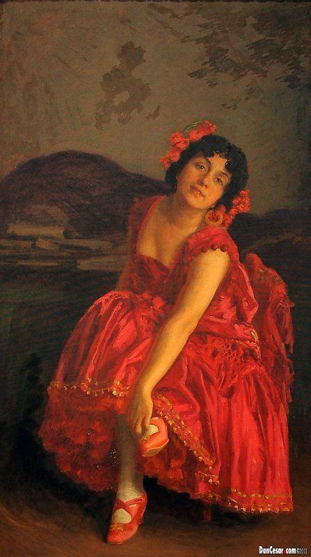 Ivan Tišov Carmen 1914 by Ivan Tiov Croatian 1870 1928 Flamenco