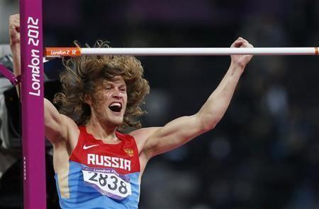 Ivan Ukhov Athletics Russian Ukhov claims high jump gold Reuters
