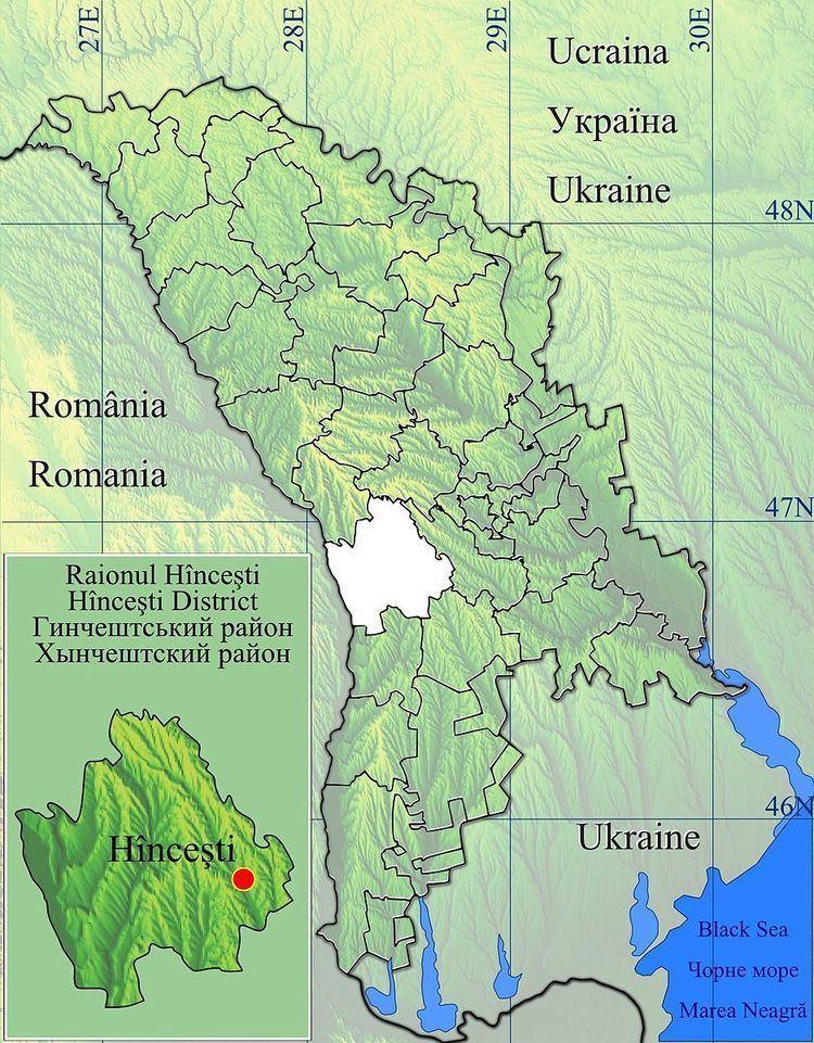 Ivanovca, Hîncești