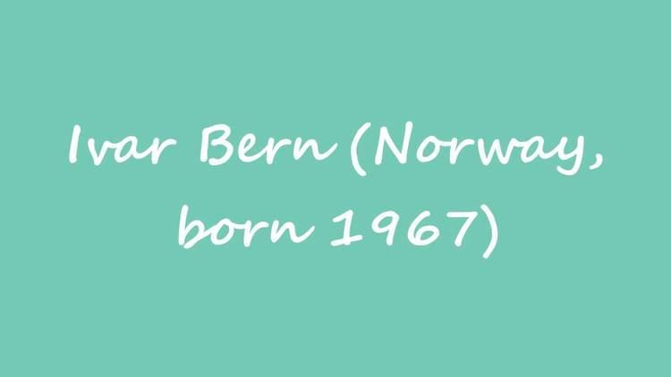 Ivar Bern OBM Chess Player Ivar Bern Norway born 1967 YouTube