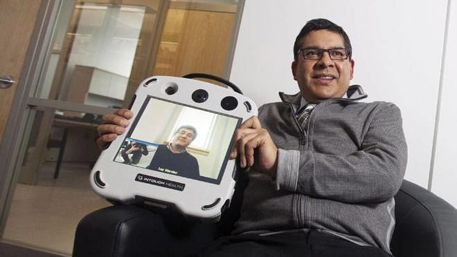 Ivar Mendez Nova Scotia doctor at forefront of remote service The