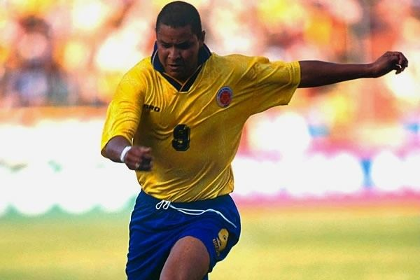 Iván Valenciano Ivan Ren Valenciano jugador histrico de la seleccin Colombia