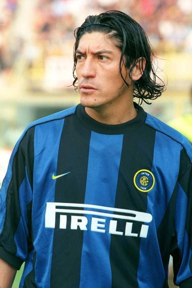 Ivan Zamorano Ivan Zamorano Inter Milan Inter Milan Pinterest Milan