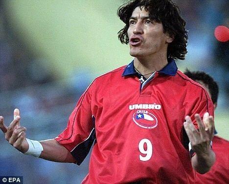 Iván Zamorano Players of the Year Ivn Zamorano