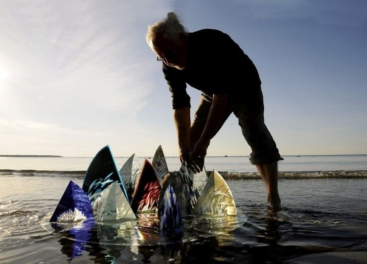Ivo Lill 2015 Ivo Lill ON GHOST WATERS Estonian Glass Artists Union