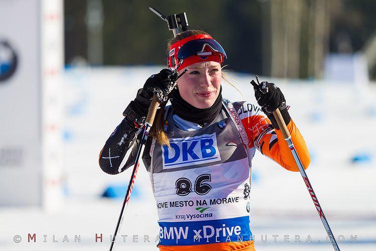 Ivona Fialková Nov Msto ije biatlonom V printe triumfovali Dahlmeierov a Fak