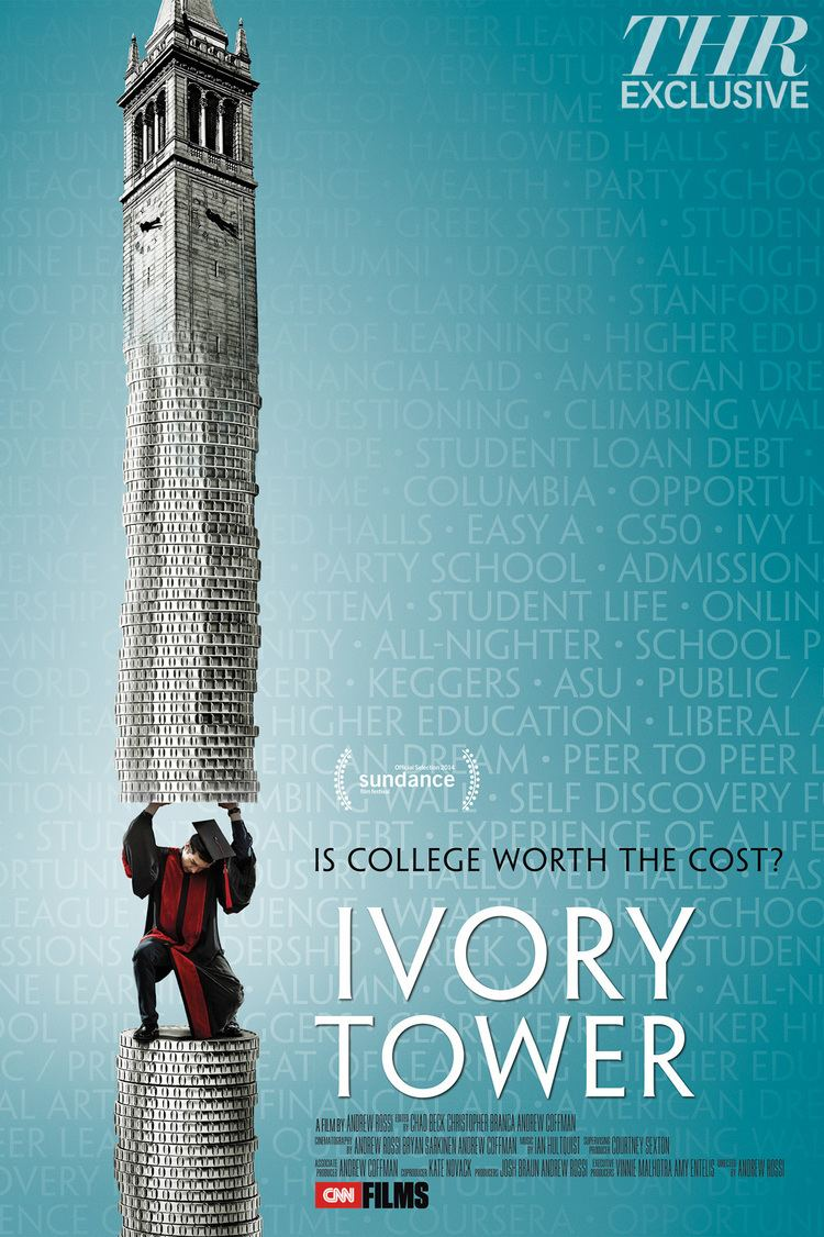 Ivory Tower (2014 film) Sundance Preview Ivory Tower Poster Portrays the Burden of