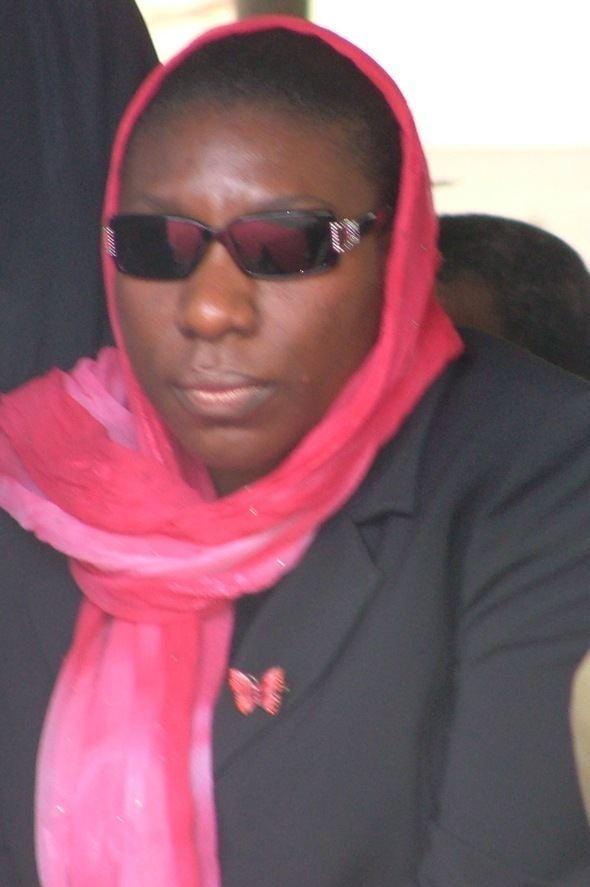 Iyabo Obasanjo-Bello Iyabo Obasanjo I dey laugh o mightyng