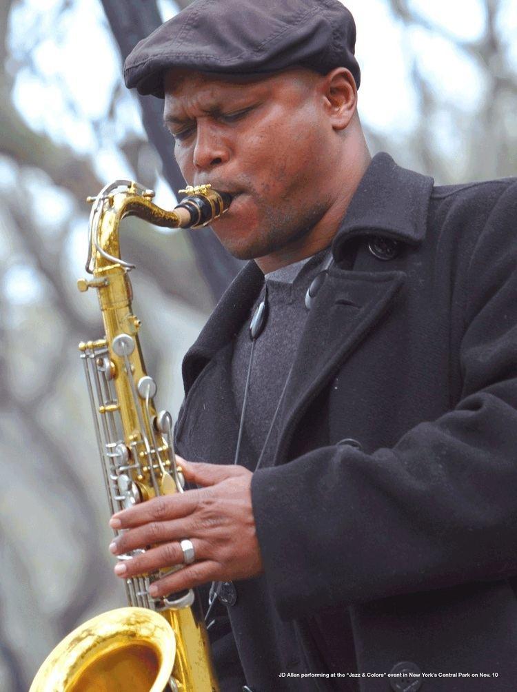 J. D. Allen My DownBeat profileinterview with tenor saxophonist JD Allen Feb