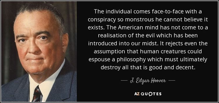 J. Edgar Hoover TOP 25 QUOTES BY J EDGAR HOOVER AZ Quotes