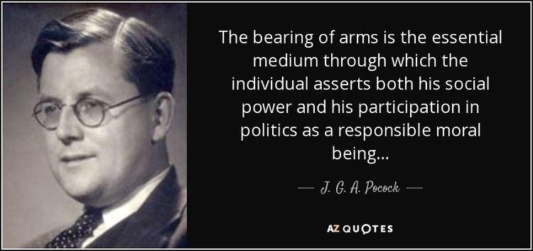 J. G. A. Pocock QUOTES BY J G A POCOCK AZ Quotes