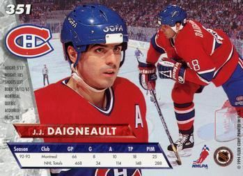 J. J. Daigneault The Trading Card Database JJ Daigneault Gallery