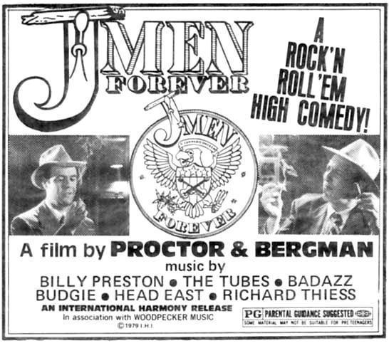 J-Men Forever JMen Forever the Firesign Theatres Proctor Bergmans rockn