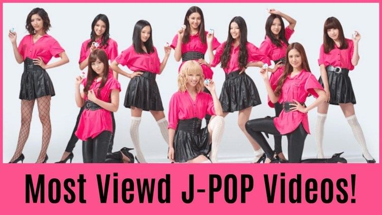 J-pop The Top 50 Most Viewed JPOP Videos YouTube