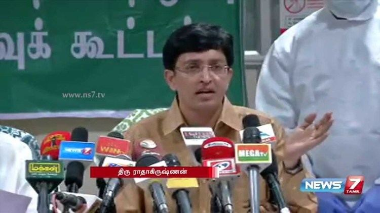 J. Radhakrishnan Health secretary J Radhakrishnan speaks about Swine flue awarness