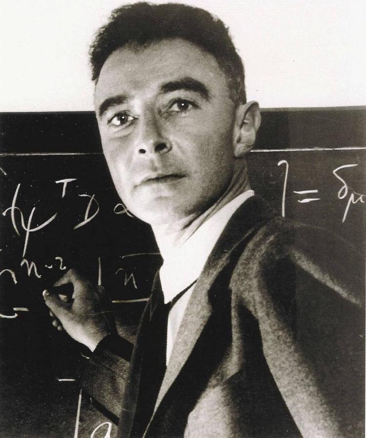 J. Robert Oppenheimer Los Alamos NM Manhattan Project Voices