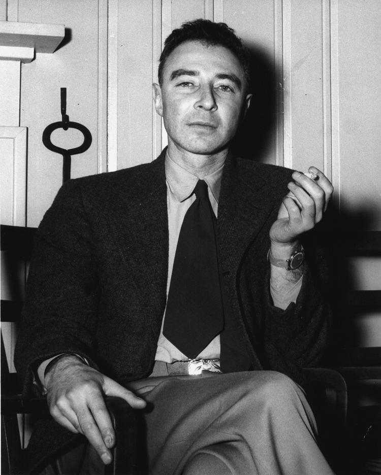 J. Robert Oppenheimer J Robert Oppenheimer Wikipedia the free encyclopedia