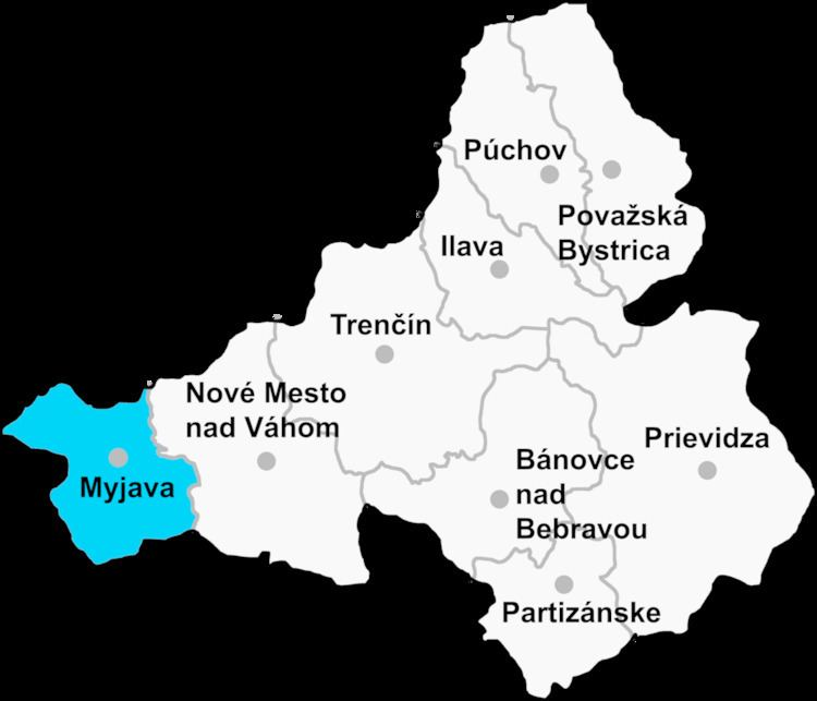 Jablonka, Myjava District