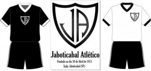 Jaboticabal Atlético Jaboticabal Atltico Jaboticabal SP Modelo de 1938 Histria