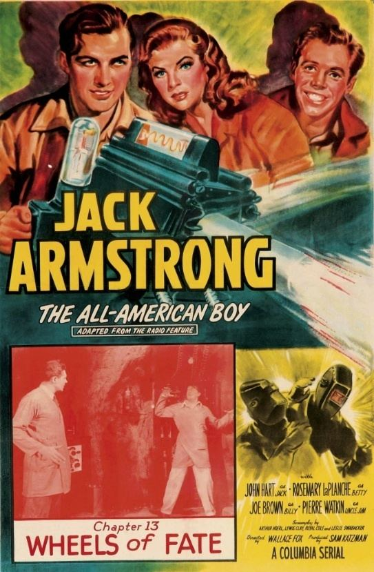 Jack Armstrong (serial) Jack Armstrong 15 chapters Feb 6May 15 1947 OCD Viewer