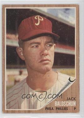 Jack Baldschun 1962 Topps Base 46 Jack Baldschun Poor to Fair COMC Card