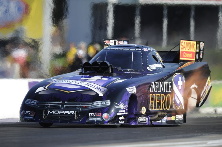 Jack Beckman FUNNY CAR39S JACK BECKMAN SEEING ONLY POSITIVES APPROACHING