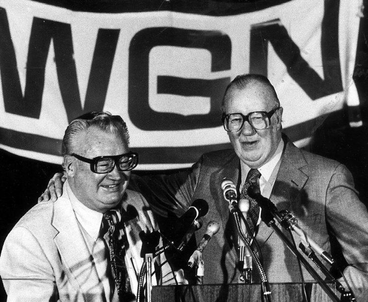 Jack Brickhouse Jack Brickhouse the overlooked voice of Cubs optimism Chicago Tribune