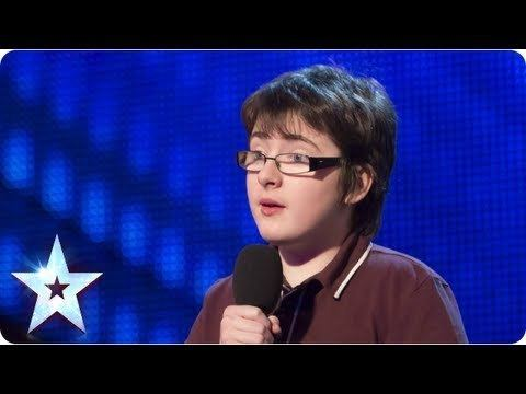 Jack Carroll (comedian) Jack Carroll with his own comedy style Week 1 Auditions