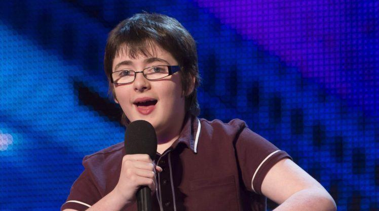 Jack Carroll (comedian) Britains Got Talent comic Jack Carroll pushed over on night out