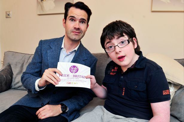 Jack Carroll (comedian) Jimmy Carr tips disabled comedian Jack to win Britain39s