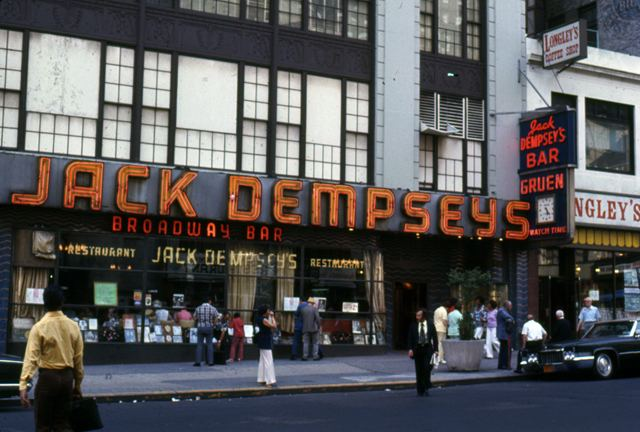 Jack Dempsey's Broadway Restaurant