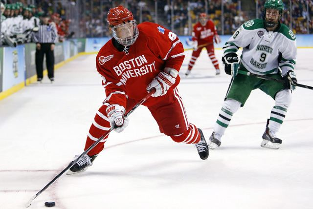 Jack Eichel Jack Eichel wins 2015 Hobey Baker as college hockeys top player