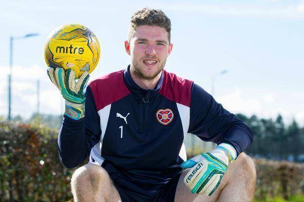 Jack Hamilton (goalkeeper) Hearts keeper Jack Hamilton thanks Ian Cathro for refusing to slate