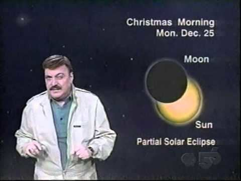 Jack Horkheimer Jack Horkheimer Star Gazer 12112000 partial eclipse YouTube