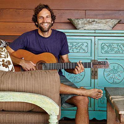 Jack Johnson (musician) At Home with Jack Johnson Coastal Living