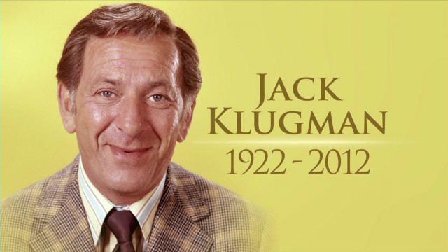 Jack Klugman Odd Couple39 actor Klugman dies at 90 CNNcom