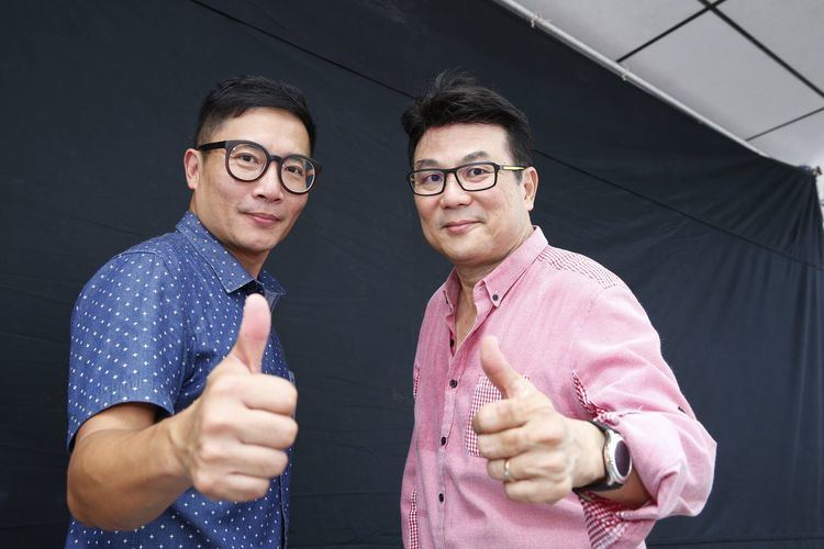 Jack Neo Standing by for a take TODAYonline